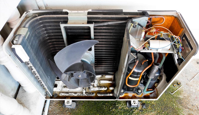 Air Conditioning Components Servicing