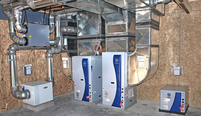 Geothermal AC Installation